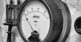 Ampere Analoganzeige