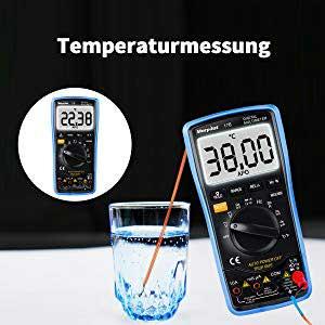 Morpilot 17b Temperaturmessung